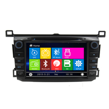 Free Shipping 8 inch Car DVD player GPS navigation System For Toyota RAV4 2013 2014 RDS Radio Stereo Headunit Bluetooth Ipod TV