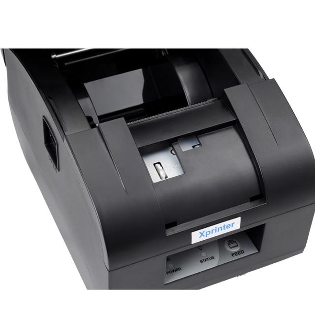 """Черный USB порт """"58 мм тепловой квитанция/мини/ккм автообрезки Получение авторезак принтер"""