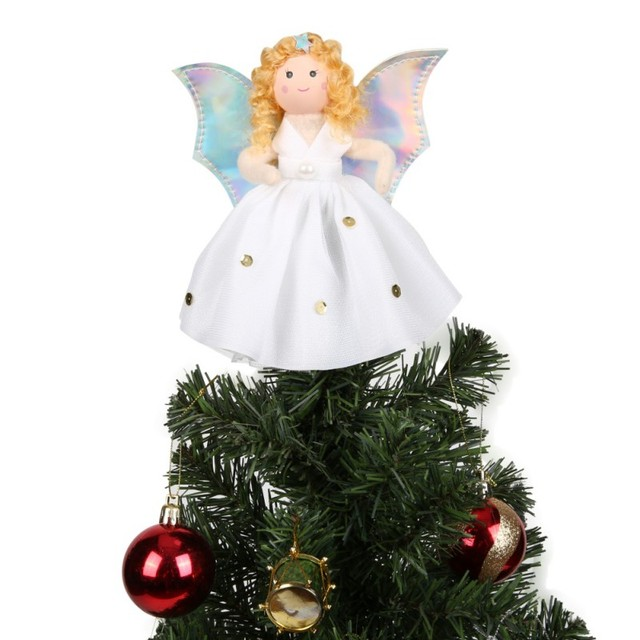 new year gifts angel christmas tree toppers guardian angel decorations kids tree decorations outdoor christmas decorations - Outdoor Christmas Tree Topper