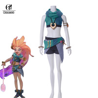 ROLECOS LOL Zoe Cosplay Aspect Of Twilight Cosplay Costumes Zoe Cosplay Brand Full Set Top Shorts