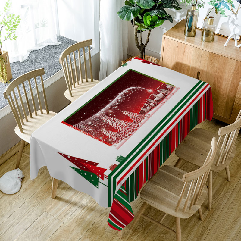 Aliexpress.com : Buy New Year Christmas Tablecloth High