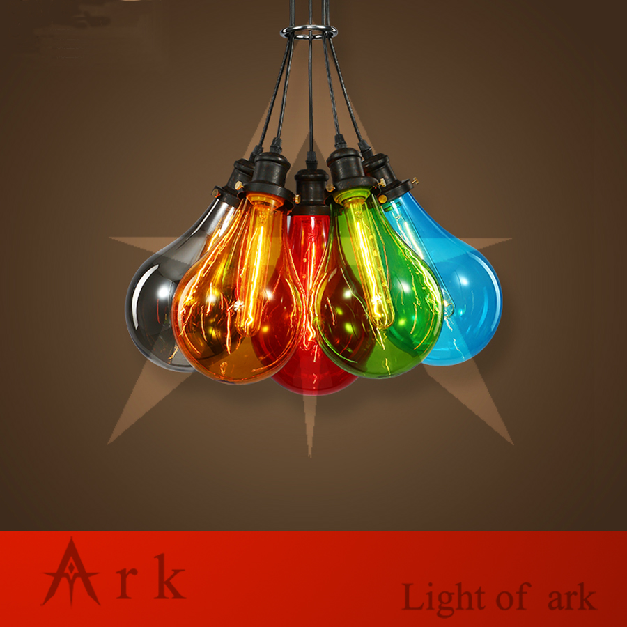 ark light Free Shipping Hot Selling 8 colorful GLASS BUBL Droplight colorful crystal glass pendant light for living room bar high quality ark 3360f ark 3360l d5a1e selling all kinds of boards