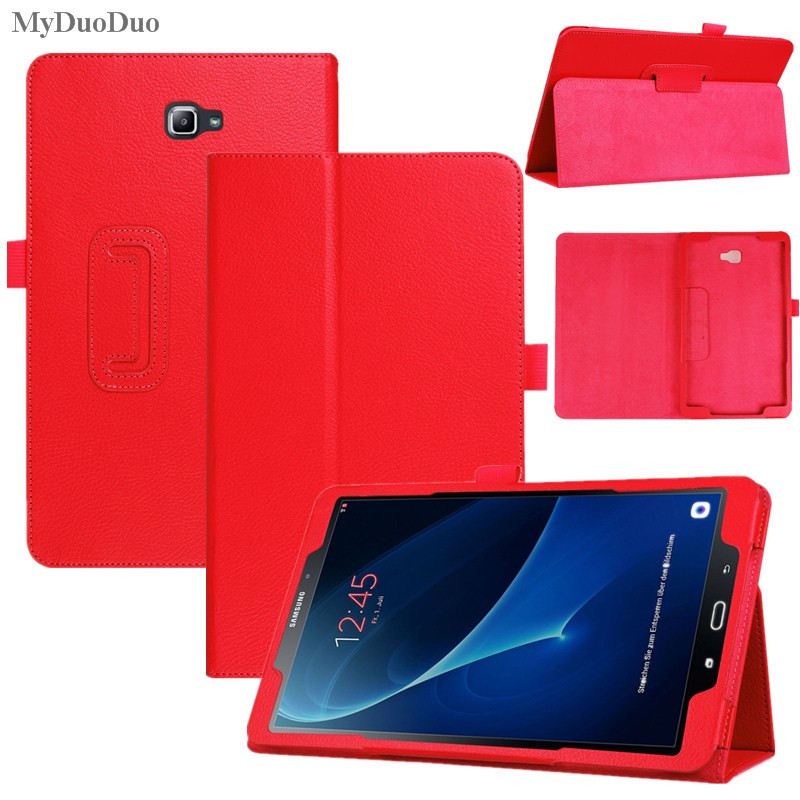 MyDuoDuo Tablet Case for Samsung Galaxy Tab A A6 10.1 2016 T585 T580 SM-T580 T580N