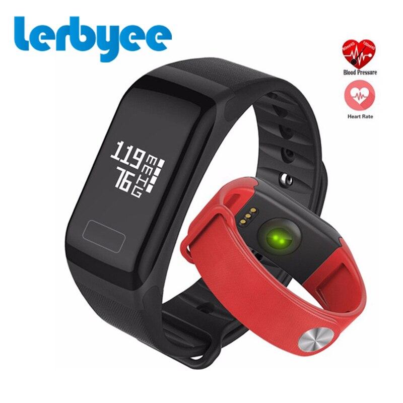 2Pcs F1 Smart Band Blood Oxygen Tracker Blood Pressure Fitness Bracelet Men Sport Waterproof Smart Watch for iPhone 8 Xiaomi