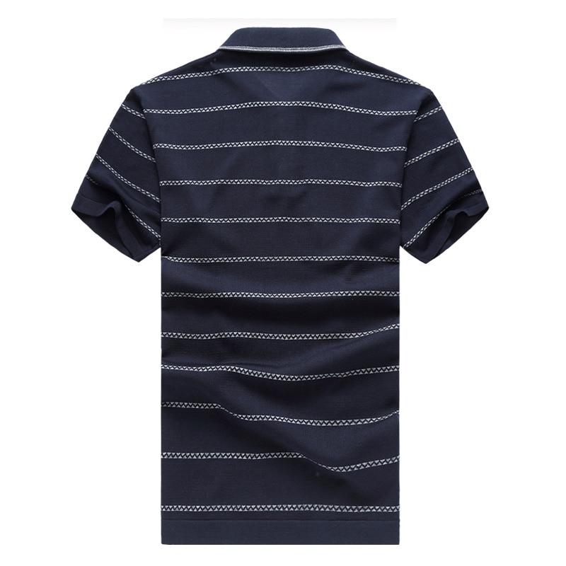 Venta caliente para hombre camisa de polo a rayas verano moda hombre - Ropa de hombre - foto 3