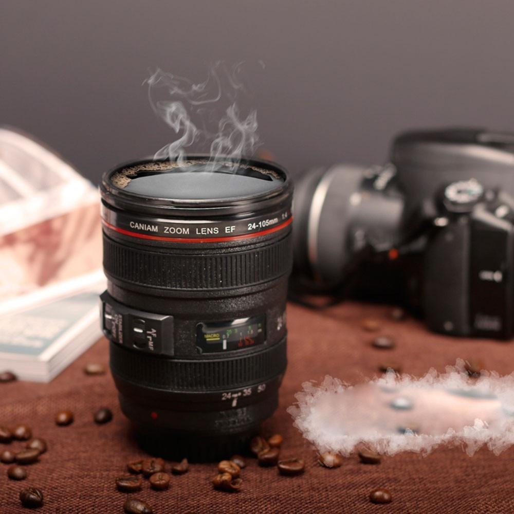 Us 898 Neue 400 Ml Kaffee Kameraobjektiv Becherschale Lustigen Kühlen Emulation Kamera Skala Besonderes Geschenk Kunststoff Milch Bier Kaffeetasse