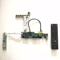 T V56 03 Universal VGA HDMI AV Audio USB TV LCD Controller Board For 15 4inch