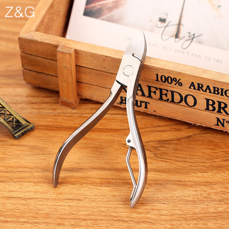 Nail Tools Professional Nail Cutter Stainless Steel Nail Cipper Cuticle Nipper High Quality Coupe Ongle Nail Art