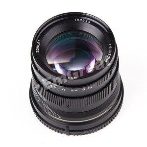 Image 3 - Zonlai 50 มิลลิเมตร F1.4 ขนาดใหญ่เลนส์เลนส์โฟกัส 195 กรัมสำหรับ Sony E   mount สำหรับ Fuji canon EOS M กล้อง Mirrorless Mirrorless