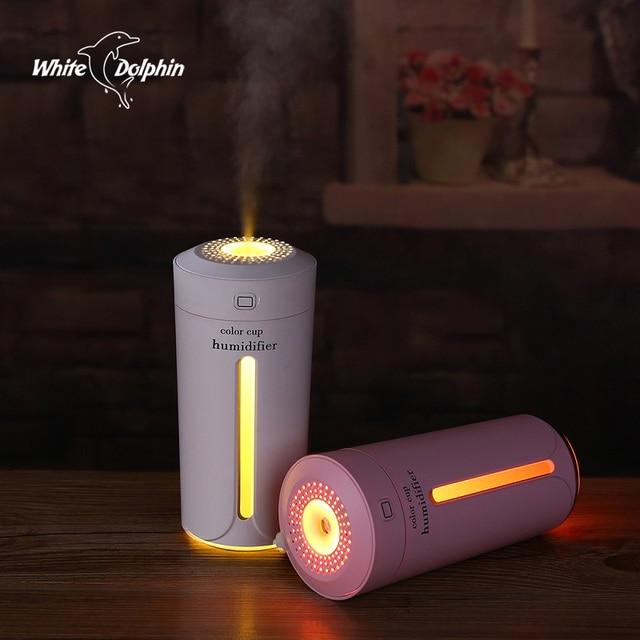 Voiture Humidificateur USB Huile Essentielle Aroma Diffuseur avec 7 Changement de Couleur LED Lumières pour Home Office Humidificateur D'air Ultrasonique