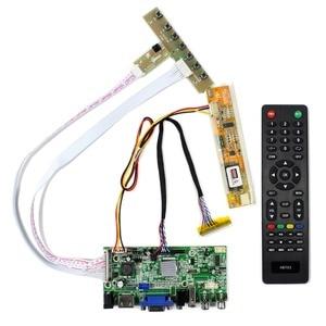 HDMI + VGA + 2AV + USB + Аудио ЖК-контроллер плата для ЖК-экрана DIY ЖК-монитор