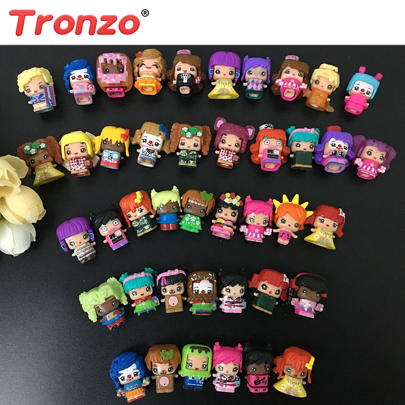 Tronzo 2018 New 50Pcs/Set MMMQ's My Mini Mixie Q's Anime Action Figure Kawaii Mini Model Doll Toys Gift For Girl Childrens