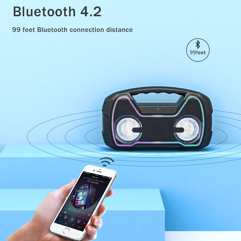 Mini Bluetooth Speaker with Light 14