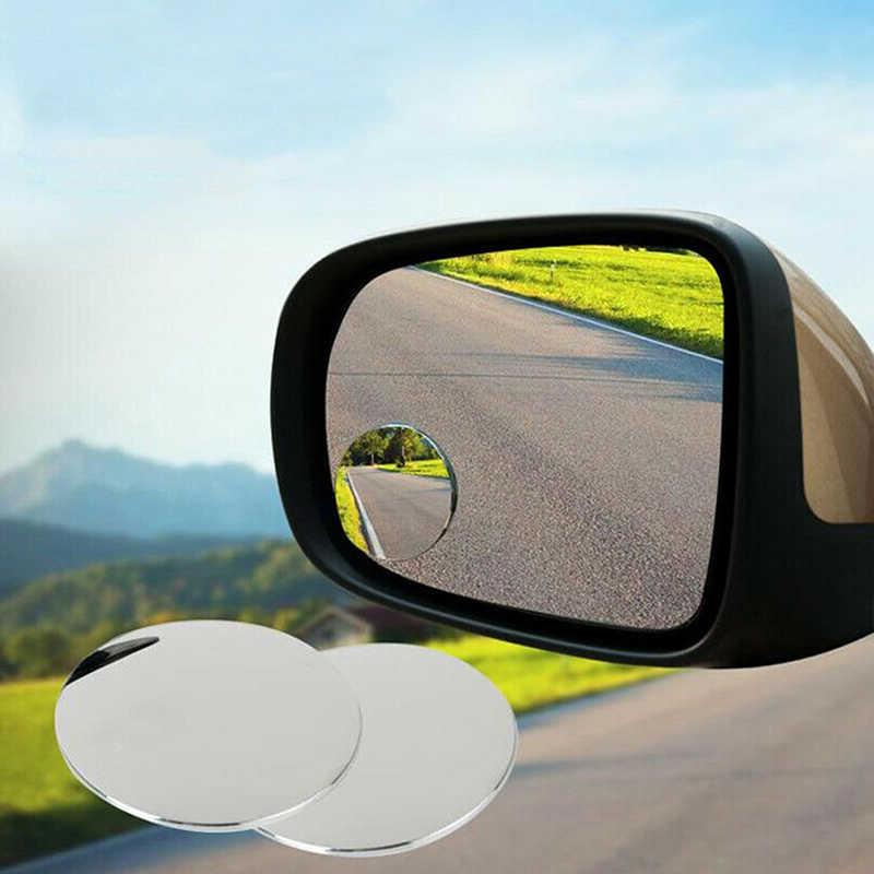 1 Pc/2 pcs Araba 360 Derece Framless Kör Nokta Ayna Geniş Açı Dışbükey Ayna Küçük Yuvarlak Yan Kör Noktaya dikiz Park Ayna