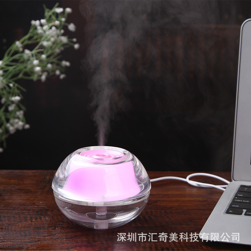Crystal USB գիշերային լամպի լուսավոր - Կենցաղային տեխնիկա - Լուսանկար 2