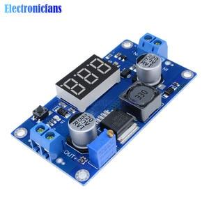 Image 3 - DC DC XL6009 Digital Boost Step Up Power Supply Module Adjustable 4.5 32V to 5 52V Step up Voltage Regulator With LED Voltmeter