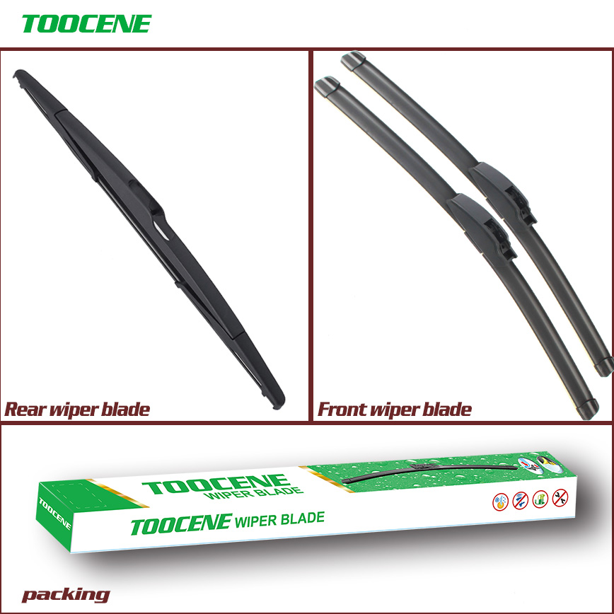 Front and Rear Wiper Blade For Renault Megane Grandtour 1999-2002 Windshield Rubber Brush Car Accessories 22+20+14