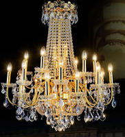 Современные светодиодные люстры Роскошные Chrome большой K9 золото хрустальные люстры освещение блеск Cristal Высококлассные Блеск Гостиная лобб