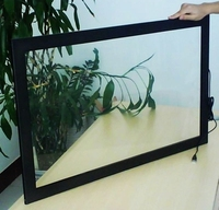 32 inch infrared touch screen frame 2 points IR multi touch screen panel