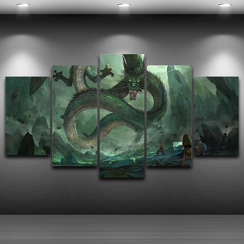 Dragon Wall Art Canvas Print