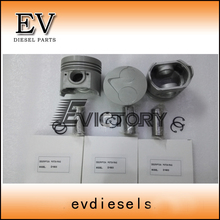 D1503 engine parts Kubota D1503 piston piston ring and cylinder liner full cylinder head gasket kit
