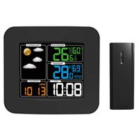 Digital Thermometer Hygrometer Weather Station Clock Alarm Calendar Weather Forecast Termometro Digital Meteo Station
