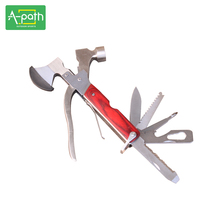 outdoor camping Portable Safety & Survival stainless steel Multifunctional plier car kit window escape hammersurvival axe