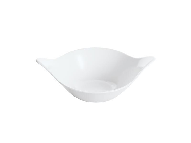 Салатник koziol, LEAF, 0,6 л, белый салатник koziol leaf 40 2 20 28 8 см белый