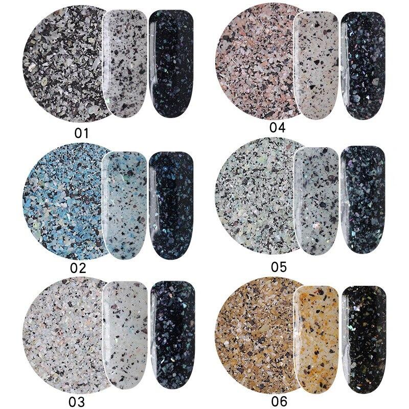 In Mioblet Neue 2 Gr/schachtel Chameleon Marmor Pulver Nagel Flakes Glänzende Nägel Glitter Maniküre Diy Nagel Pailletten Staub Nägel Kunst Dekoration Duftendes Aroma