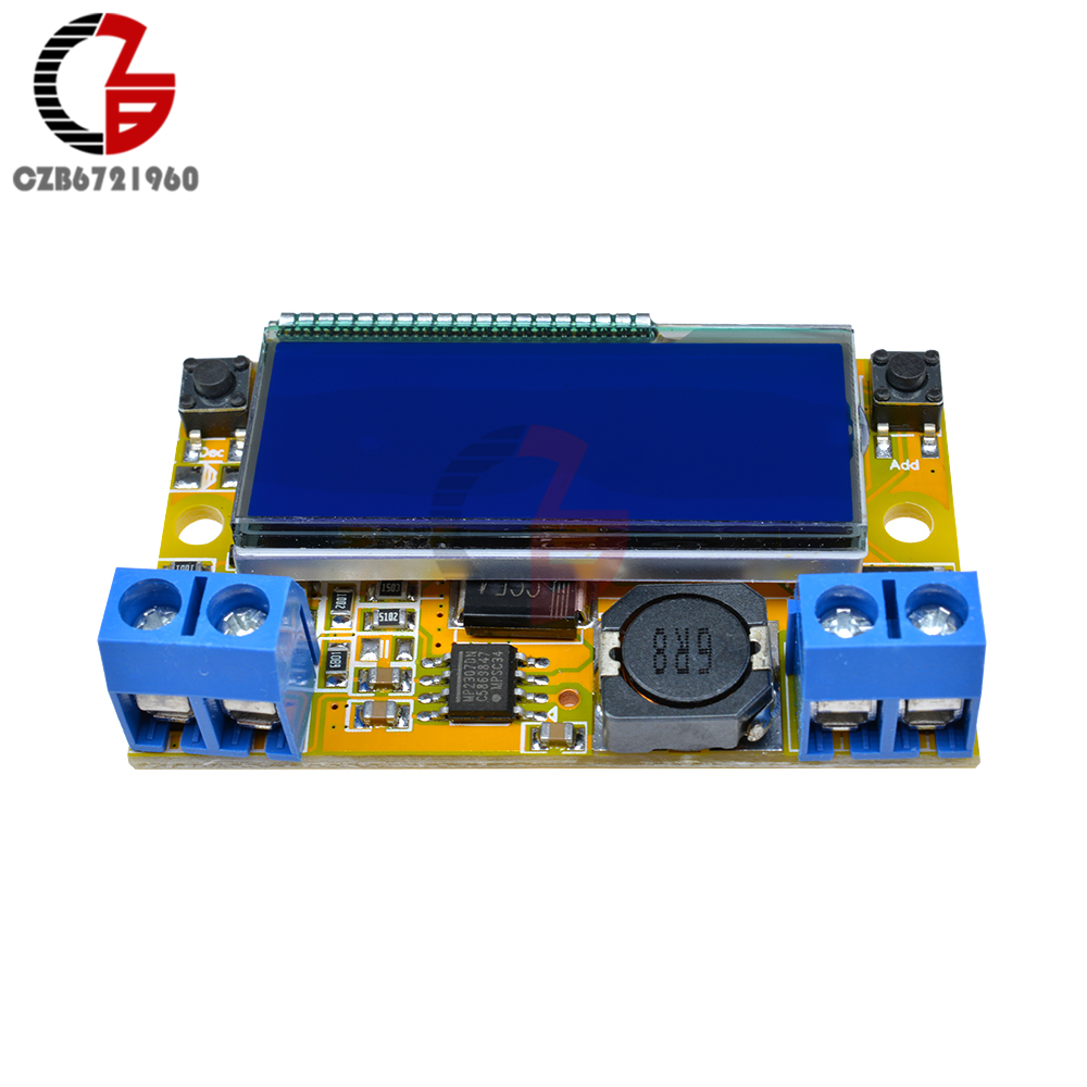 3a Dc Lcd Step Down Buck Converter Module Power Electronics Engineering Eee Lm317 Variable Voltage Regulator Transformer Stn Dual Display In Transformers From Home Improvement On