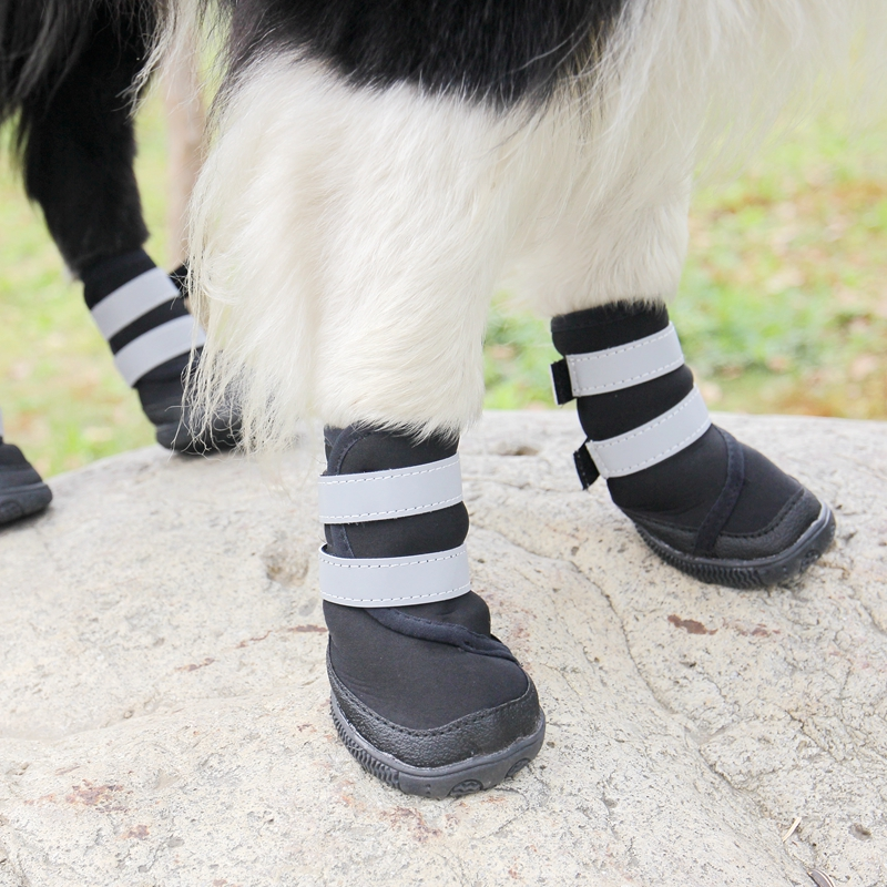 aliexpress buy black large dogs shoes waterproof non