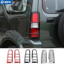 MOPAI ABS экстерьера автомобиля хвост свет лампы охранники украшения крышка наклейки для Suzuki Jimny 2007 до стайлинга автомобилей