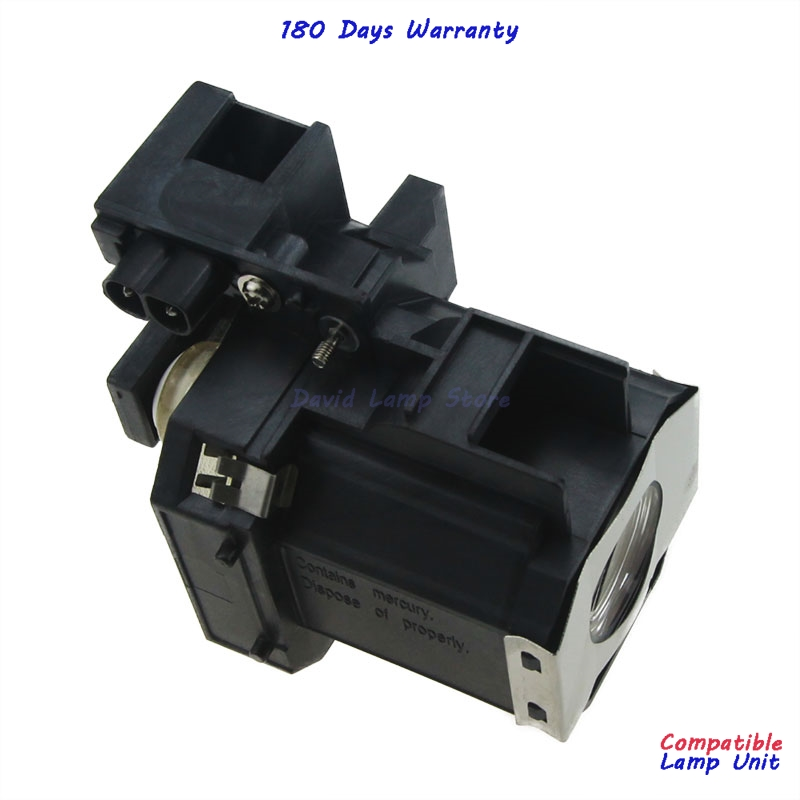 Free Shipping ELPLP35 V13H010L35 Replacment Projector Lamp with Housing For EPSON EMP TW520 EMP TW600 EMP