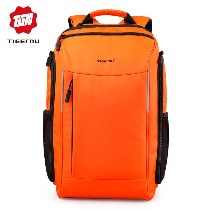 6eb3555e9e Tigernu Brand 15.6 inch Laptop Backpack Mochila Women Men waterproof Backpacks  Bags Casual Business Travel Backpack