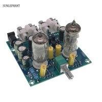 Placa de Amplificador de Áudio Pré-Amplificador Mixer De Áudio Amplificadores valvulados Válvula 6J1 Preamp Bile Buffer Kits Diy