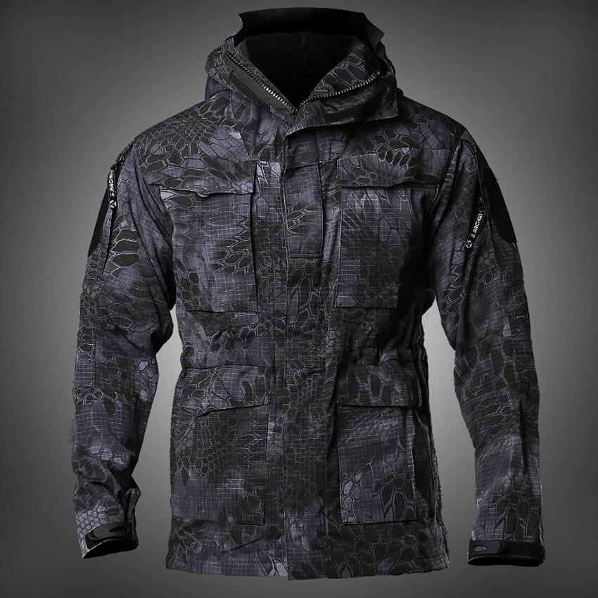 NOVA Mens M65 REINO UNIDO Roupas Militares Do Exército DOS EUA Campo Jaquetas jaqueta de Inverno/Outono Casaco Blusão Com Capuz Quatro Vôo Piloto À Prova D' Água cores