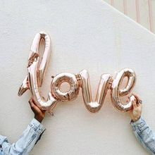 Ligatures Love Champagne Red Balloons Aluminium Foil Balloon Helium Ballons Birthday Wedding Valentine'S Day Party Decoration