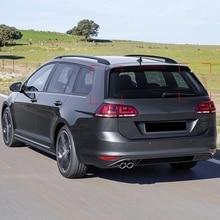 Заднего крыла сбоку Стикеры для спойлера Накладка для Golf 7 вариант для автомобиля с кузовом универсал аксессуары для стайлинга автомобилей