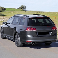 Alerón trasero de coche lado pegatinas para Spoiler Trim para Golf Mk 7 variante bienes carro Accesorios Estilo de coche