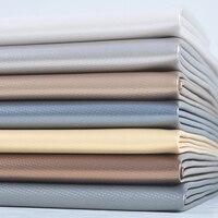 Artificial Leather Fabric for Car Interior Sofa Texitle Bag Door Decroation Car Upholstery Material Leer Stof Kunstleder