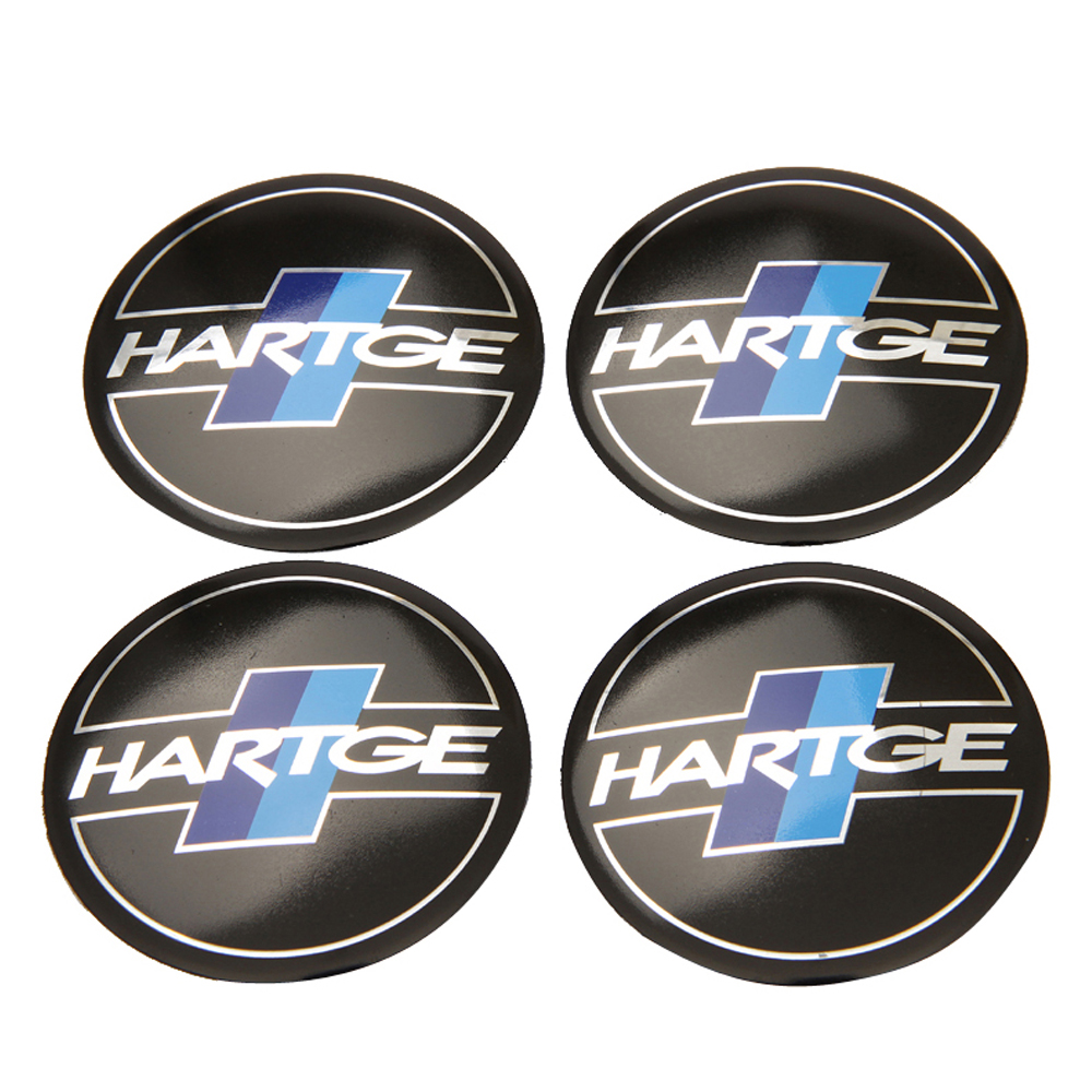 For Hartge Sticker For BMW X5 X6 Z4 E60 E90 E53 E49 E46 E39 F30 M4 M5 Range Rover Mini Cooper Wheel Center Hub Caps Car Styling image