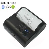 80mm bluetooth printer thermal printer thermal receipt printer bluetooth android mini 80mm thermal bluetooth printer 8001DD