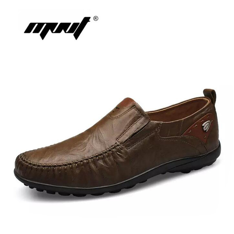 Handmade men flats shoes plus size loafers Moccasins genuine leather casual driving shoes,Soft and breathable men shoes цены онлайн