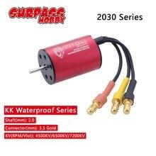 SURPASSHOBBY KK 2030 4500KV 6200KV 6500KV 7200KV2S Waterproof Brushless Motor for 1:20 1:18 GTR/Lexus RC Drift Racing Car