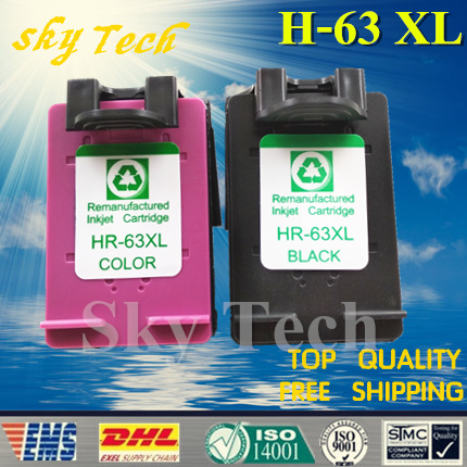 One set Remanufactured ink cartridge suit for HP63XL , For HP 1112 2130 2132 3630 3632 3830 4650 4516 4512 4520 Printer
