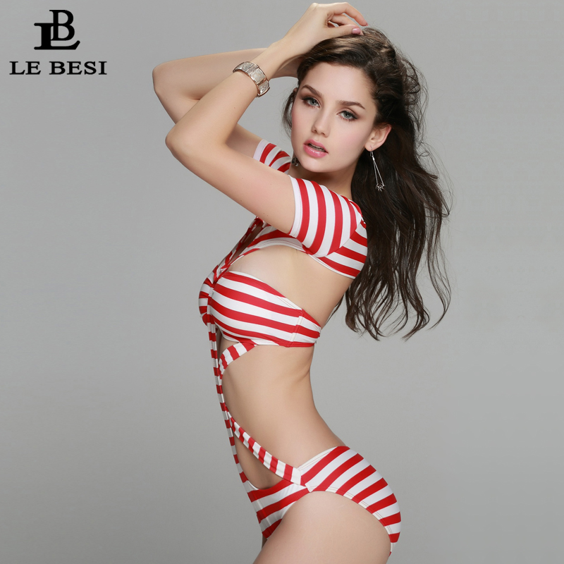 2017 New One Piece Swimsuit for Women Plus Size M-XXL Push Up Sexy - Sportswear and Accessories - Photo 2