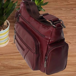 Image 4 - Women Vintage Shoulder Bag First Layer Cowhide Messenger Bags Shopping Casual Brand Famous Genuine Leather Single CrossBody Bags