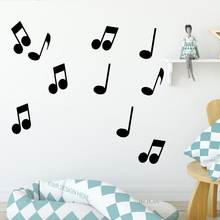 Beauty music Wall Stickers Animal Lover Home Decoration Accessories For Kids Rooms Decoration Removable Decor Wall Decals beauty journey begain single stepwall stickers animal lover home decoration accessories for kids rooms home decor muursticker