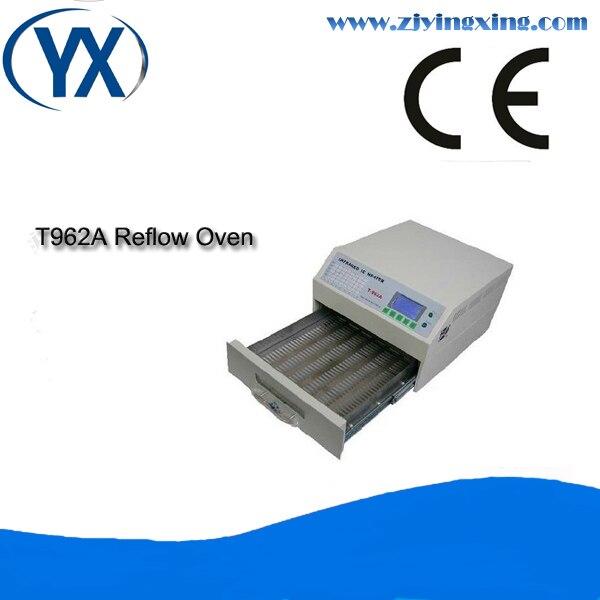 Four à reflux contrôlé par Micro-processeur four à reflux infrarouge pour four à souder T962A pour ligne de Production de lampes LED