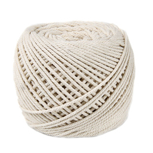 Mayitr 100M*4mm Natural Beige Macrame Cotton Twisted Cord Rope DIY Home Textile Accessories Craft
